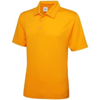 Textiel Heren Polo's korte mouwen Awdis JC040 Goud
