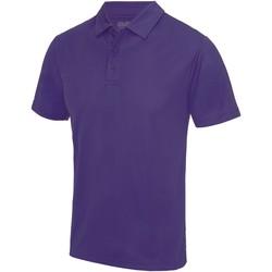 Textiel Heren Polo's korte mouwen Just Cool JC040 Paars