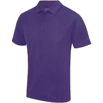 Textiel Heren Polo's korte mouwen Awdis JC040 Paars