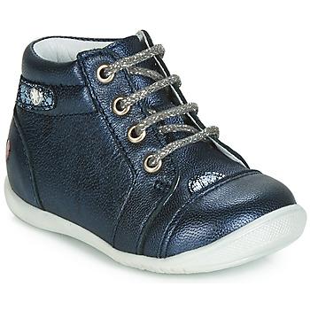 Schoenen Meisjes Hoge sneakers GBB NICOLE Marine