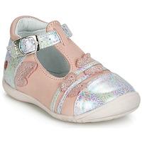 Schoenen Meisjes Ballerina's GBB MERTONE Roze / Zilver