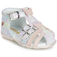 Schoenen Meisjes Sandalen / Open schoenen GBB RIVIERA Roze