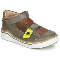 Schoenen Jongens Sandalen / Open schoenen GBB PORRO Grijs / Brown
