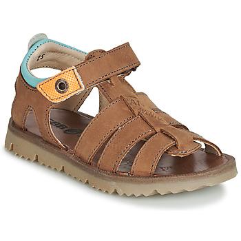 Schoenen Jongens Sandalen / Open schoenen GBB PATHE Brown