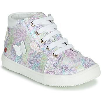 Schoenen Meisjes Hoge sneakers GBB MEFITA  ctv / Imp / Petrole-hart / Pailleté / Dpf / Dinn