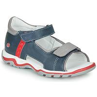 Schoenen Kinderen Sandalen / Open schoenen GBB PARMO Blauw