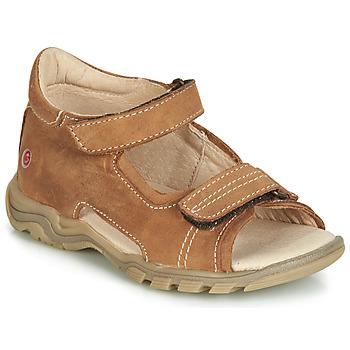 Schoenen Kinderen Sandalen / Open schoenen GBB PARMO Brown