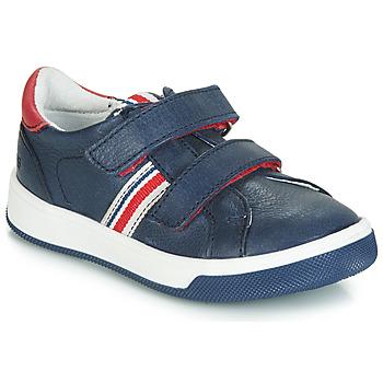 Schoenen Jongens Lage sneakers GBB NEVIS Vte / Marine-rood / Dpf / Spotify
