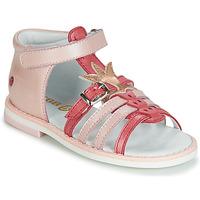 Schoenen Meisjes Sandalen / Open schoenen GBB CARETTE Roze