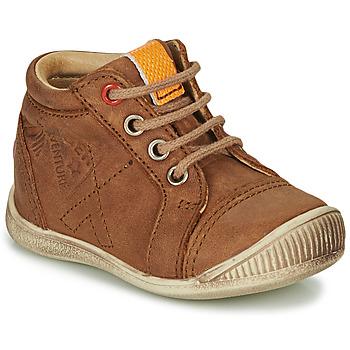 Schoenen Jongens Hoge sneakers GBB TARAVI Brown