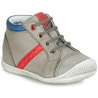 Schoenen Jongens Hoge sneakers GBB TARAVI Grijs / Rood / Blauw