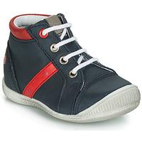 Schoenen Jongens Hoge sneakers GBB TARAVI Marine / Rood