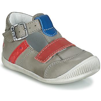 Schoenen Jongens Sandalen / Open schoenen GBB BALILO Grijs / Blauw / Rood