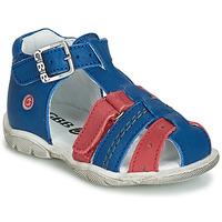 Schoenen Jongens Sandalen / Open schoenen GBB ARIGO Blauw / Rood