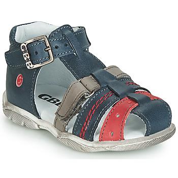 Schoenen Jongens Sandalen / Open schoenen GBB ARIGO Vte / Marine-grijs-rood / Dpf / Filou