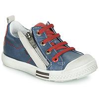 Schoenen Jongens Lage sneakers GBB STELLIO Blauw / Rood