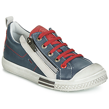 Schoenen Jongens Lage sneakers GBB STELLIO Marine / Rood