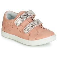 Schoenen Meisjes Lage sneakers GBB BALOTA Roze / Zilver