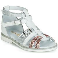 Schoenen Meisjes Sandalen / Open schoenen GBB MONELA Wit