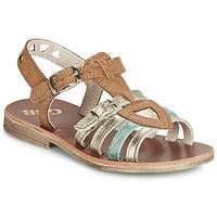 Schoenen Meisjes Sandalen / Open schoenen GBB FANNI Brown