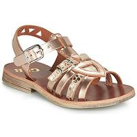 Schoenen Meisjes Sandalen / Open schoenen GBB FANNI Gelb / Roze / Huidskleur / Dpf / Coca