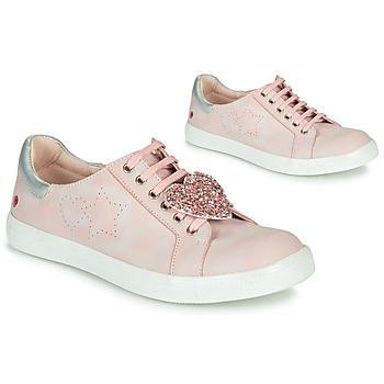 Schoenen Meisjes Lage sneakers GBB MUTA Roze