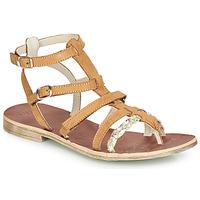 Schoenen Meisjes Sandalen / Open schoenen GBB NOVARA Brown