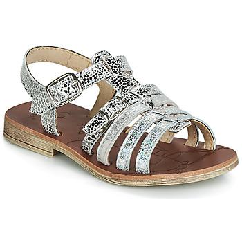 Schoenen Meisjes Sandalen / Open schoenen GBB BANGKOK Vte / Zilver / Dpf / Coca