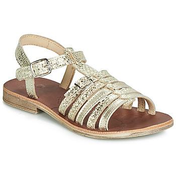 Schoenen Meisjes Sandalen / Open schoenen GBB BANGKOK Orange