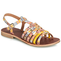 Schoenen Meisjes Sandalen / Open schoenen GBB BANGKOK Multikleuren / Geel
