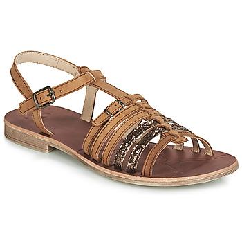 Schoenen Meisjes Sandalen / Open schoenen GBB BANGKOK Brown