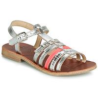Schoenen Meisjes Sandalen / Open schoenen GBB BANGKOK Grijs