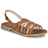 Schoenen Meisjes Sandalen / Open schoenen Catimini NOBO Cognac / Goud