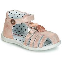 Schoenen Meisjes Sandalen / Open schoenen Catimini VANUA Roze / Gold