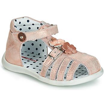 Schoenen Meisjes Sandalen / Open schoenen Catimini VANUA Roze / Goud