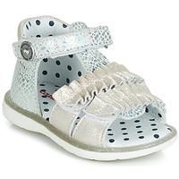Schoenen Meisjes Sandalen / Open schoenen Catimini BIRA Zilver