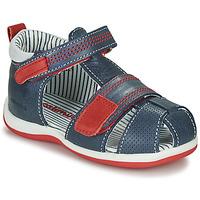 Schoenen Jongens Hoge sneakers Catimini BALIMO Vts / Marine / Dpf / Clio