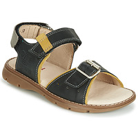 Schoenen Jongens Sandalen / Open schoenen Catimini SUREAU Zwart