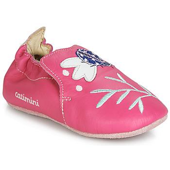 Schoenen Meisjes Sloffen Catimini CASSIA Roze