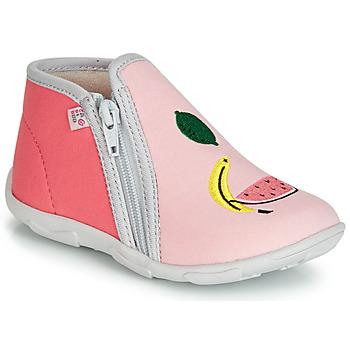 Schoenen Meisjes Sloffen GBB FERNANDA Roze