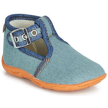 Schoenen Jongens Sloffen GBB SAPPO Blauw / Jean