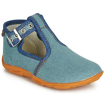 Schoenen Jongens Sloffen GBB SAPPO Blauw