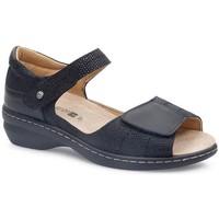 Schoenen Dames Sandalen / Open schoenen Calzamedi FASHIO NEGRO