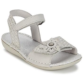 Schoenen Meisjes Sandalen / Open schoenen Kickers EVANA Wit / Cassé
