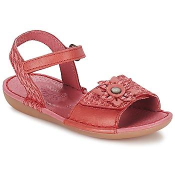 Schoenen Meisjes Sandalen / Open schoenen Kickers EVANA Rood / CORAIL
