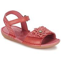 Schoenen Meisjes Sandalen / Open schoenen Kickers EVANA Roze / CORAIL
