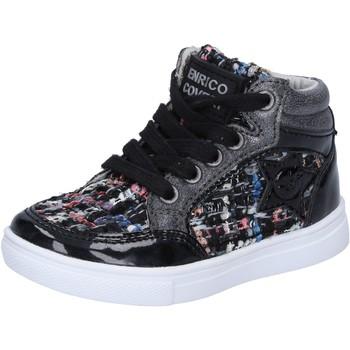 Schoenen Meisjes Hoge sneakers Enrico Coveri Baskets BX822 Noir