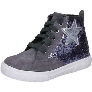 Schoenen Meisjes Hoge sneakers Enrico Coveri Baskets BX839 Gris