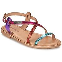 Schoenen Meisjes Sandalen / Open schoenen Les Tropéziennes par M Belarbi BALADIN Multikleuren