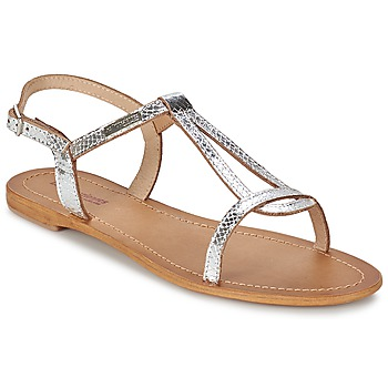 Schoenen Dames Sandalen / Open schoenen Les Tropéziennes par M Belarbi HAMAT Zilver / Serpent